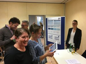 Informationsstand des Dynamik-Projekts in Oerlinghausen